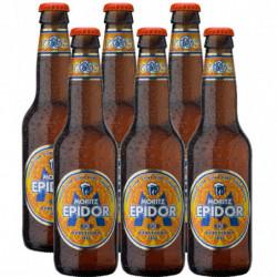 Cerveza Moritz Epidor Botella 33cl (Pack6 x 33cl) 7,2%