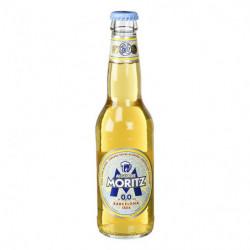 Cerveza Moritz Sin Alcohol 0,0 Botella 33cl