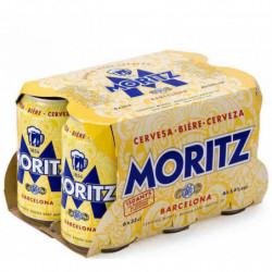 Cerveza Moritz Lata (Pack6 x 33cl)