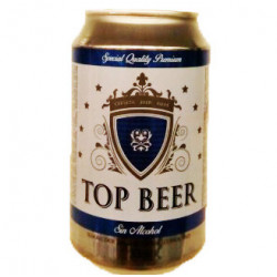 Cerveza Top Beer Sin Alcohol Lata 33cl