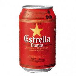 Cerveza Estrella Damm Lata 33cl 5,4%
