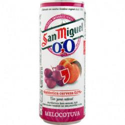 Cervesa San Miguel 0,0 Melocotuva 33cl