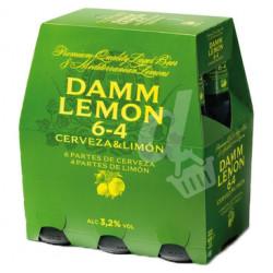 Cerveza Damm Lemon Botella (Pack 6 x 25cl) 3,2%