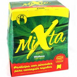 Cerveza Mahou Mixta Limón Botella (Pack6 x 25cl) 0,9%