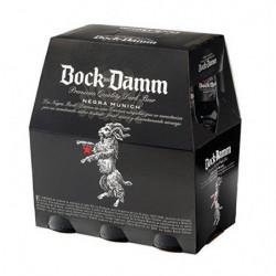 Cerveza Bock Damm Negra Botella (Pack6 x 25cl) 5,4%