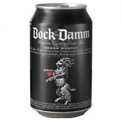 Cerveza Bock Damm Negra Lata 33cl 5,4%