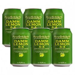 Cerveza Damm Lemon 3,2% Lata (Pack6 x 33cl)