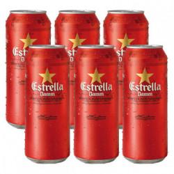 Cerveza Estrella Damm (Pack6 x 50cl) 5,4%