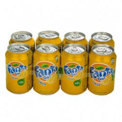 Fanta Limón Latas (Pack 8x33cl)