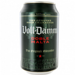 Cerveza Voll Damm Lata 33cl 7,2%