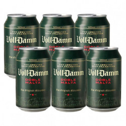 Cerveza Voll Damm Lata (Pack 6x33cl) 7,2%