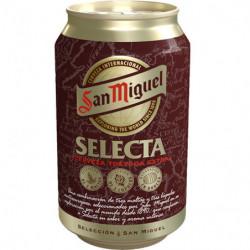 Cerveza San Miguel Selecta Lata 33cl 6,2%