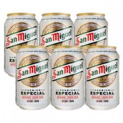 Cerveza San Miguel (Pack 6 x 33cl) 5,4%