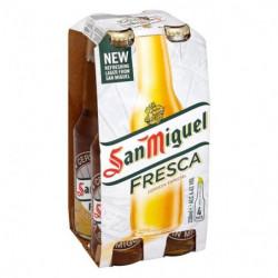 Cerveza San Miguel Botella (Pack4 x 33cl) 5,4%