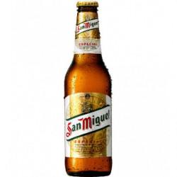 Cerveza San Miguel Fresca Botella 33cl 4,4%