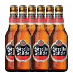 Cerveza Estrella Galicia Botella (Pack6 x 25cl)
