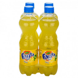 Fanta Limón Botellas (Pack 4x50cl)