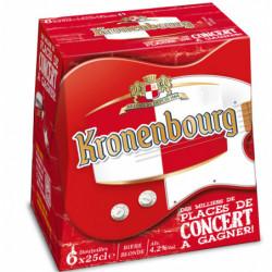 Cerveza Kronenbourg Botella (Pack6 x 25cl) 5%