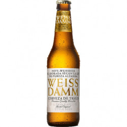 Cerveza Wetss Damm Botella 33cl 5%