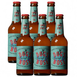 Cerveza Dog's Nose Spiced Gin Botella (Pack6 x 33cl) 4,8%