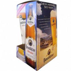 Cerveza Benediktiner 50cl (Pack 3+Vaso)