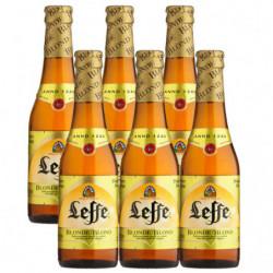 Cerveza Leffe Rubia Botella (Pack6 x 33cl) 6,6%
