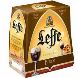Cerveza Leffe Negra Botella (Pack6 x 33cl) 6,5%