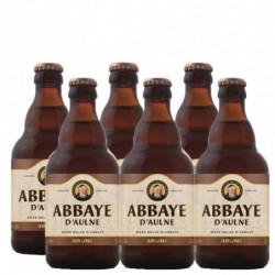 Cerveza Abbaye D'Aulne Negra Botella (Pack 6x33cl) 6%