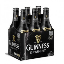 Cerveza Guinness Draught Botella (Pack6 x 33cl) 4,2%
