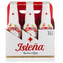 Cerveza Isleña Botella (Pack 6 x 33cl) 4,8%