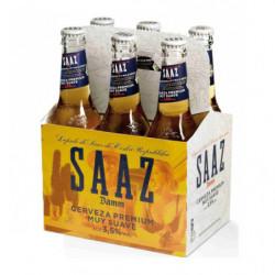 Cerveza Saaz Damm Botella (Pack 6 x 33cl) 35º