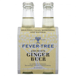Ginger Beer Fever Tree Botellas (Pack 4x20cl)