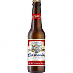 Cerveza Budweiser Botella 33cl 5º