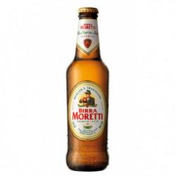 Cerveza Birra Moretti Botella 33cl 46º