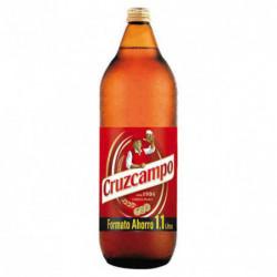 Cerveza Cruzcampo Botella 1,1L 4,8%