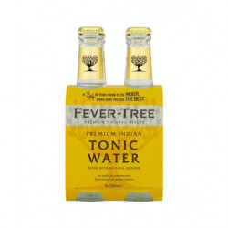 Tónica Fever Tree Indian Botellas (Pack 4x20cl)