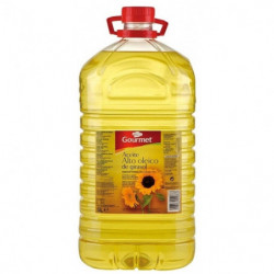 Aceite Gourmet Girasol Alto Oleico 5L 02º