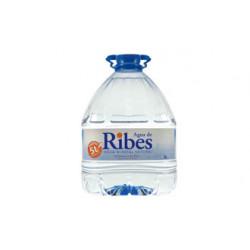 Agua Mineral Natural de Ribes Garrafa 5L