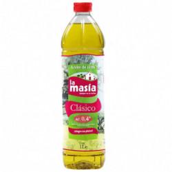 Aceite de Oliva Suave La Masía 1L 04º