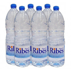 Agua Mineral Natural de Ribes 1,5 (Pack6 x 1,5L)