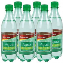 Agua Con Gas Gourmet 50cl (Pack6 x 50cl)