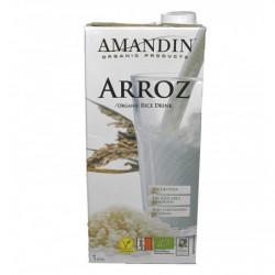 Bebida de Arroz Ecológica Amandin