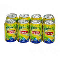 Lipton Ice Tea Limón Latas (Pack 8x33cl)