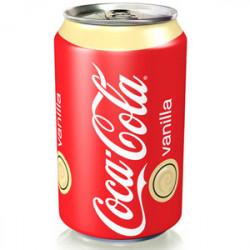 Coca Cola Vainilla Lata 33cl