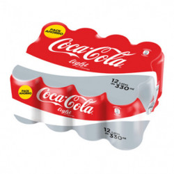 Coca Cola Light Lata (Pack12 x 33cl)