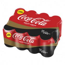Coca Cola Zero (Pack12 x 33cl)