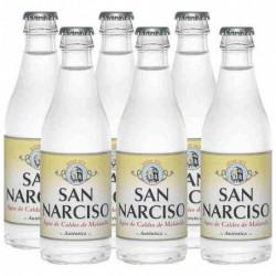 Agua con Gas San Narciso Botella Vidrio 25cl (Pack6 x 25cl)
