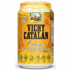 Agua Vichy Catalan Naranja 33cl