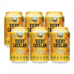 Agua Vichy Catalan Naranja 33cl (Pack6 x 33cl)