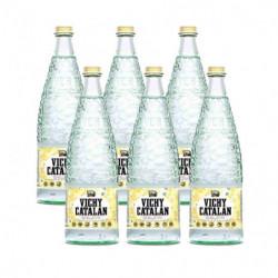 Agua con Gas Vichy Catalán Botellas (Pack 6 x 1L)